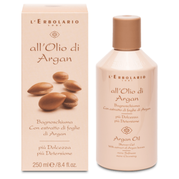 All'Olio di argan bagnoschiuma